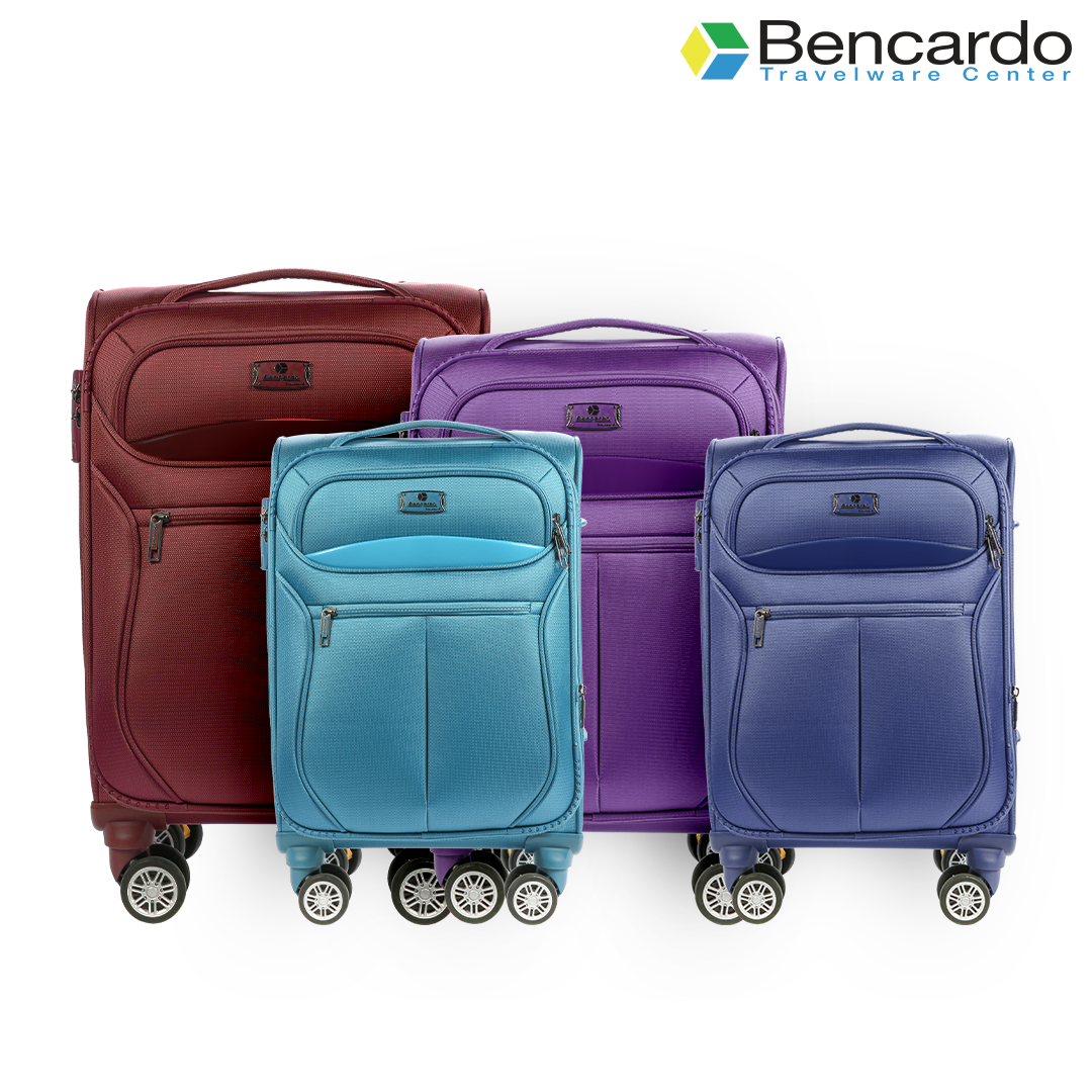 Bencardo Soft Trolley Luggage, 4 Wheels, Premium Bags, Travel Uprights - BTR-9018
