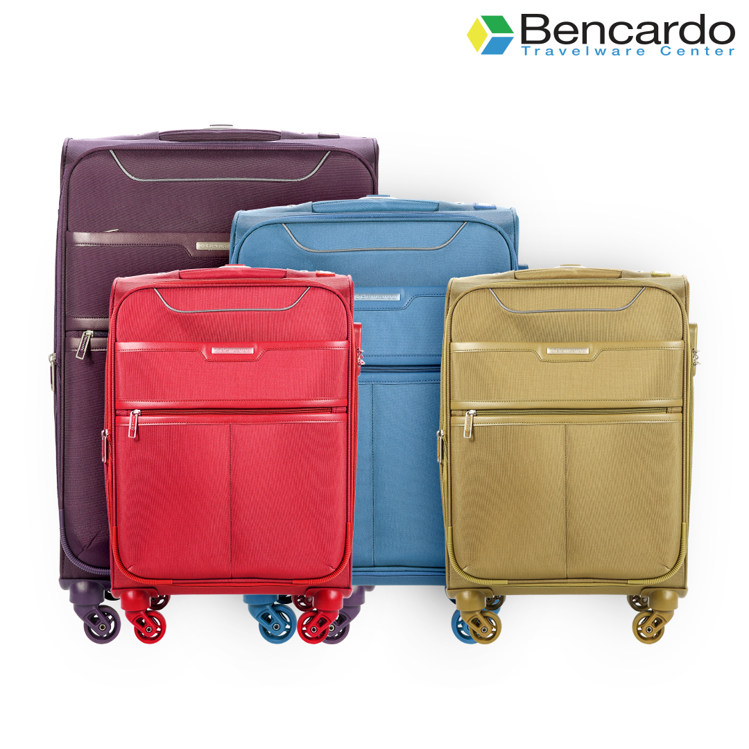 Bencardo Soft Trolley Luggage, 4 Wheels, Premium Bags, Travel Uprights - BTR-9054