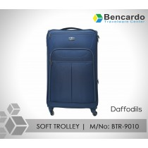 SOFT TROLLEY LUGGAGE-4 WHEELS-BTR-9010 (Daffodils)