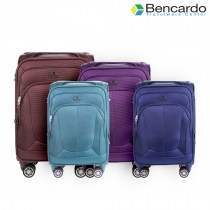 Bencardo Soft Trolley Luggage, 4 Wheels, Premium Bags, Travel Uprights - BTR-9015