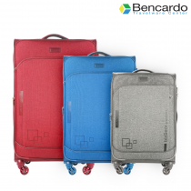 Bencardo Soft Trolley Luggage, 4 Wheels, Premium Bags, Travel Uprights - BTR-9051