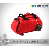 3 WAY DUFFLE BAG, GYM SPORTS BAG BGD-2305